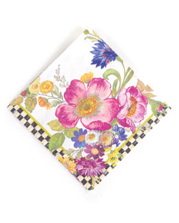 20 Flower Market Cocktail Napkins