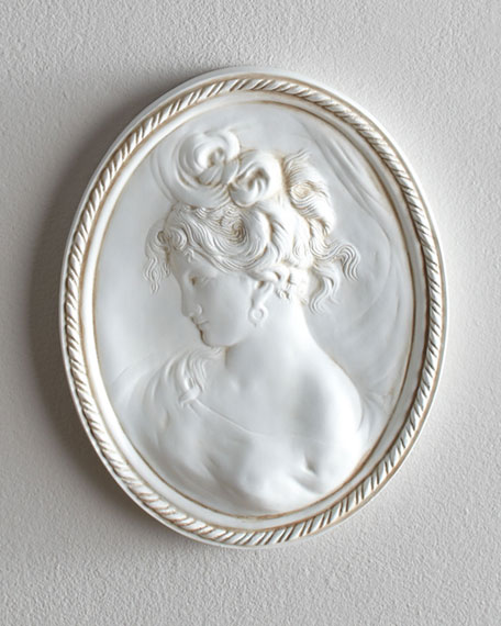 Cameo Plaque, Right Facing