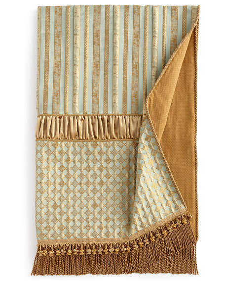 "Palazzo Como Pieced Throw, 53"" x 72"""