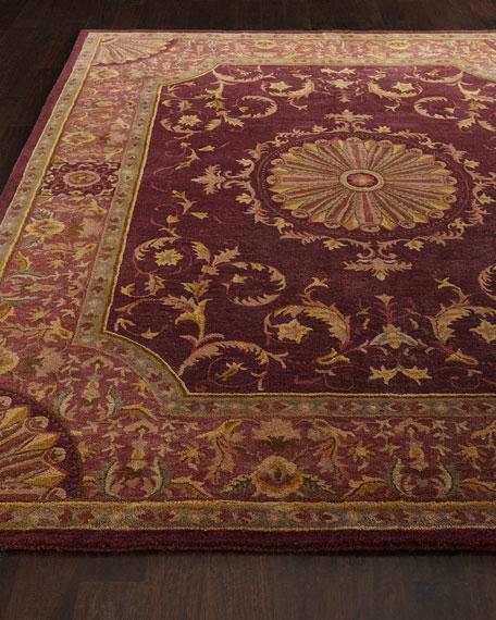 Safavieh Burgundy Oaks Rug, 6' x 9'