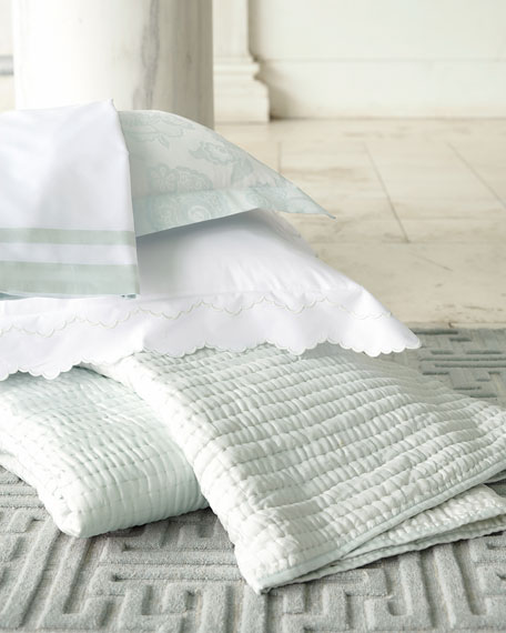 Standard 500TC Piazza Pillowcase with Border