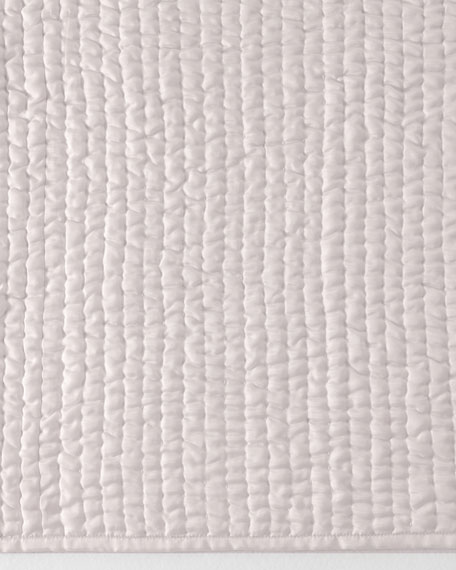 Annie Selke Luxe King Seta Quilted Silk Coverlet : quilted silk coverlet - Adamdwight.com