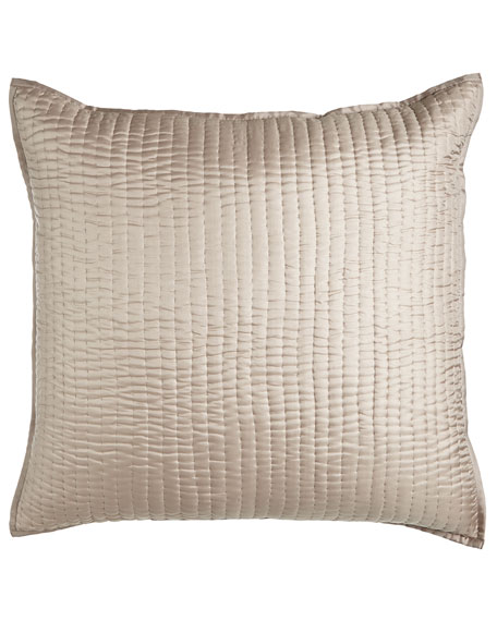 European Seta Quilted Silk Sham
