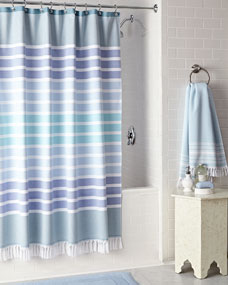 Kassatex Bodrum Shower Curtain