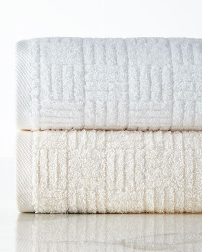 Hotel Collection Basketweave Face Cloth