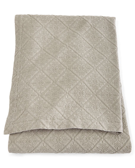 King Dante Matelasse Coverlet