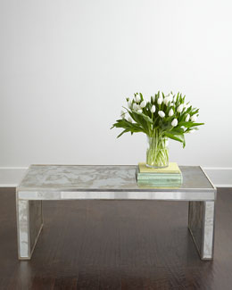 Duval Mirrored Coffee Table