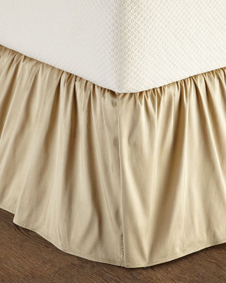 Queen Silk Dust Skirt