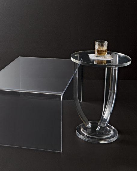 Tatum Acrylic Side Table