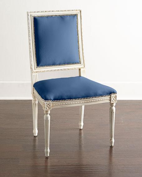 Massoud Ingram Leather Dining Chair, B7