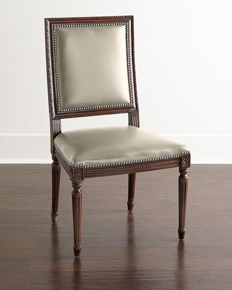 Ingram Leather Dining Chair, D3
