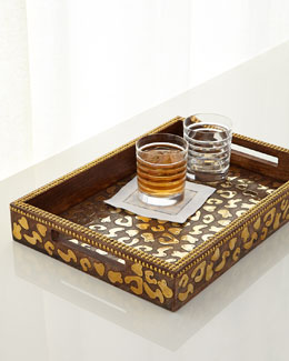 Cheetah-Print Tray