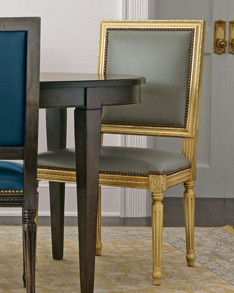 Ingram Leather Dining Chair, D8