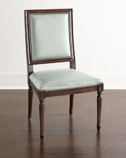 Ingram Leather Dining Chair, E3