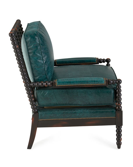 Leather Furniture Hickory North Carolina: Old Hickory Tannery Monett Leather Chair
