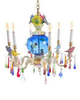 Merrifield Small Six-Light Chandelier