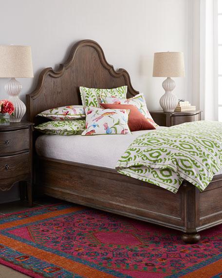 Justene Queen Panel Bed
