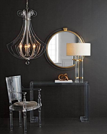 Acrylic Silhouette Six-Light Chandelier & Regina Andrew Design Acrylic Silhouette Six-Light Chandelier azcodes.com