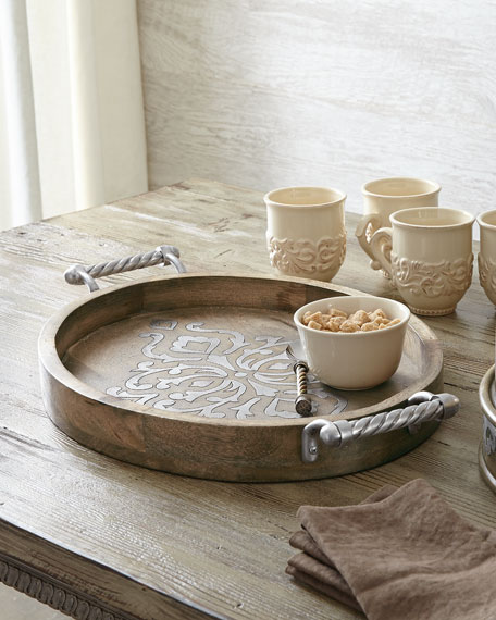 heritage small oval tray - Gg Collection