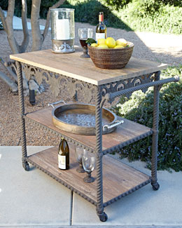 Antiquity Collection Bar Cart