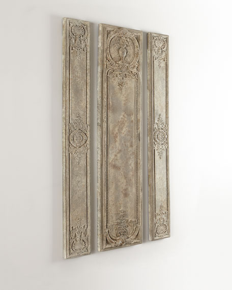 3 Pieces Wall Decor For Living Room: The Uttermost Co Magellan Wall Panels, 3-Piece Set