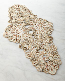 Poseidon Natural Table Runner