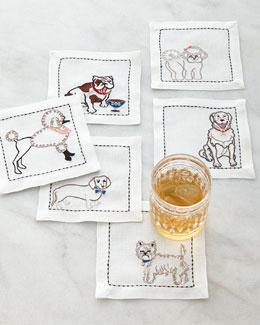 Best in Show Cocktail Napkins, 6-Piece Set