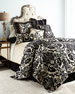 Verona King Damask Chenille Duvet Cover