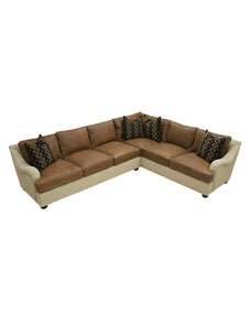 Old Hickory Tannery Reese Sectional Sofa