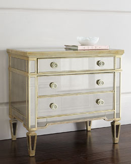 Amelie Mirrored Drawer Chest