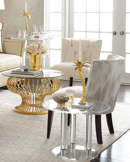 Anthony Acrylic Side Table
