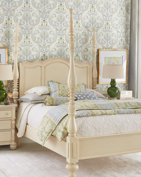 Annette Queen Poster Bed