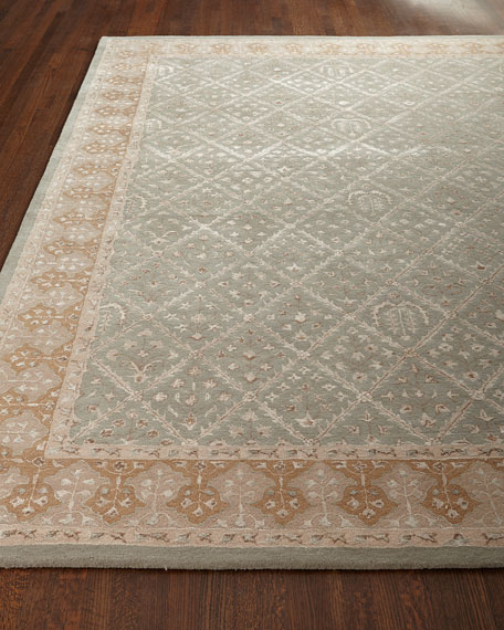 NourCouture Diamond Field Rug, 3'6