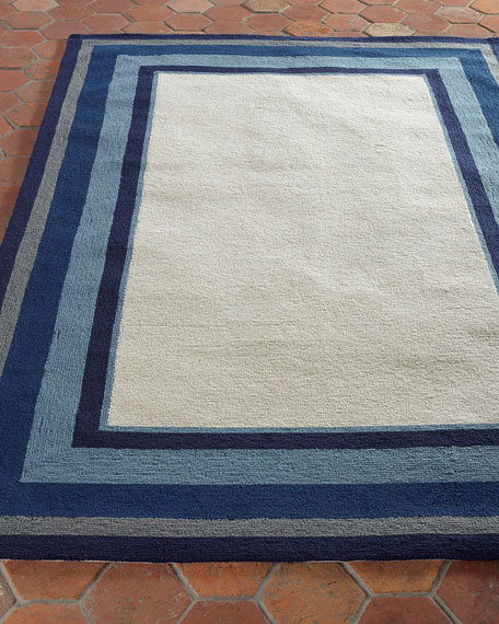 Mazarine Indoor/Outdoor Rug, 7'6