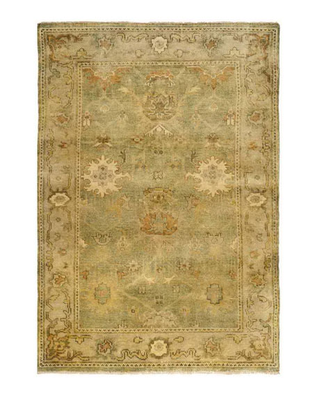 Valley Oushak Rug, 9' x 12'