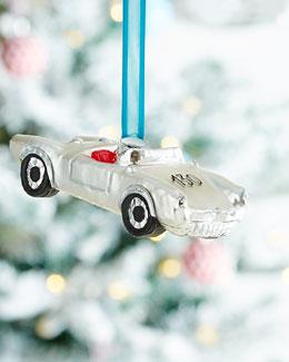 Silver Sportster Christmas Ornament