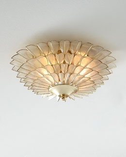 Roman Flush-mount Ceiling Fixture