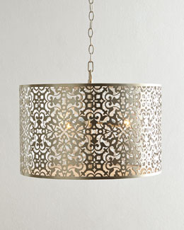 Lisette 3-Light Drum Pendant