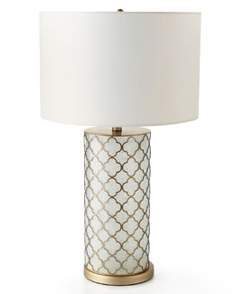 Nina Quatrefoil Table Lamp