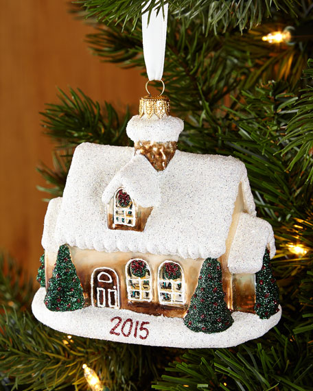 Mattarusky Ornaments Our First Home 2015 Christmas Ornament