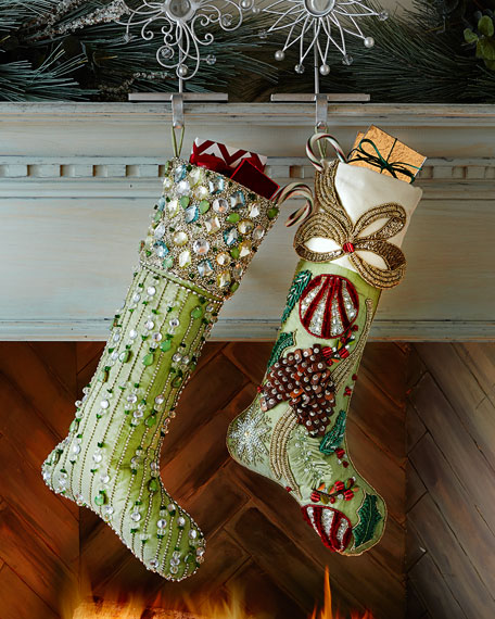 Kim Seybert Aurora Christmas Stocking