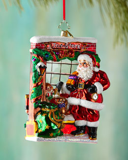 Window Shopper Christmas Ornament