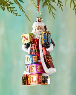 Simply Noel Christmas Ornament