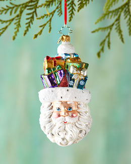 Gifts on my Mind Christmas Ornament