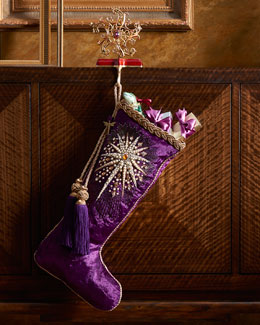 Star Christmas Stocking