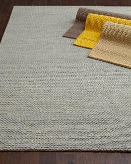 Lemon Sweater Rug, 8' x 10'