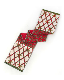 Tartan Yuletide Table Runner