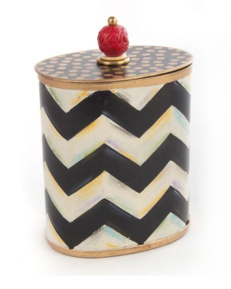 Zigzag Cotton Box
