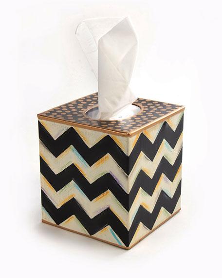 Zigzag Tissue Box Cover