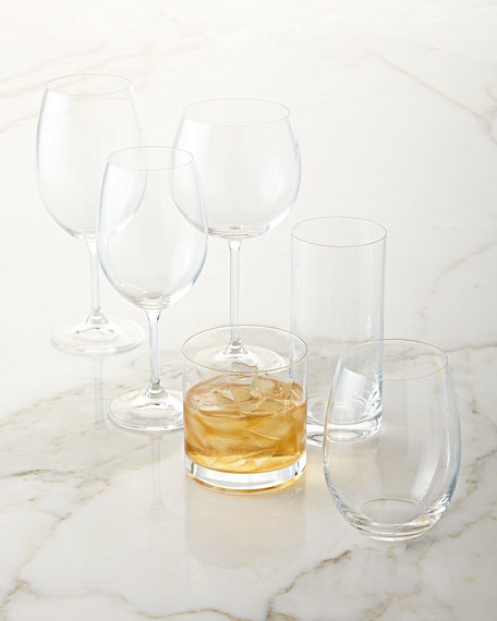 Laura White Wine Glass, Set of 4